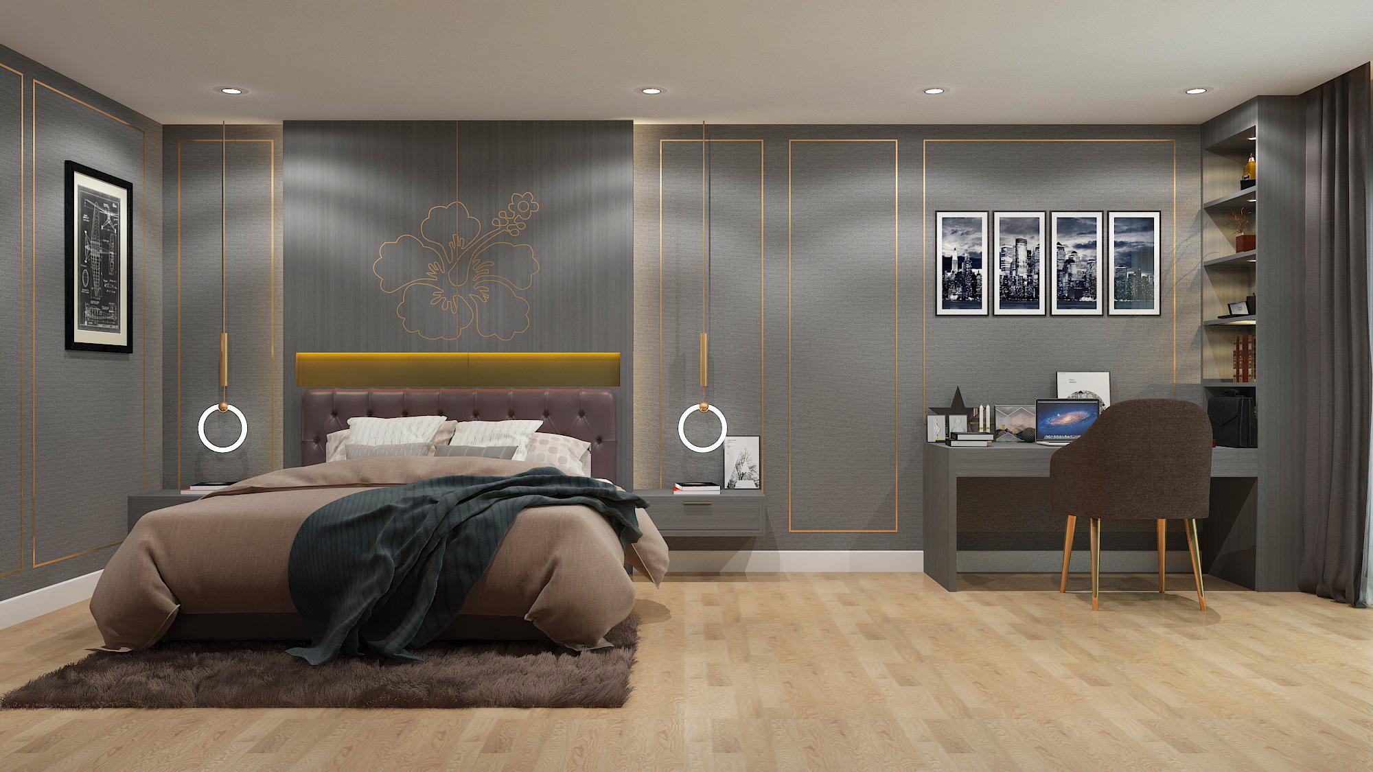 รับทำ 3D ห้องนอน